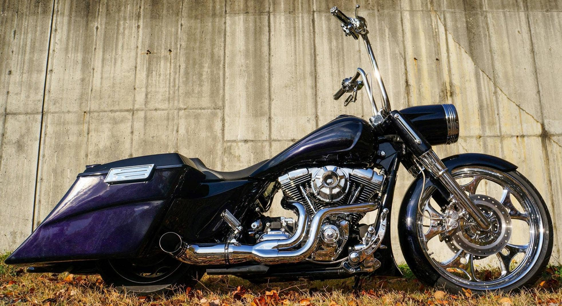 2009 Harley Road King Custom Build