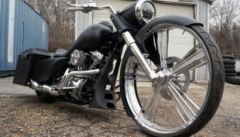 "30"" Wheel Road King"